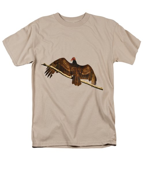 Vivid Vulture .png Men's T-Shirt  (Regular Fit) by Al Powell Photography USA