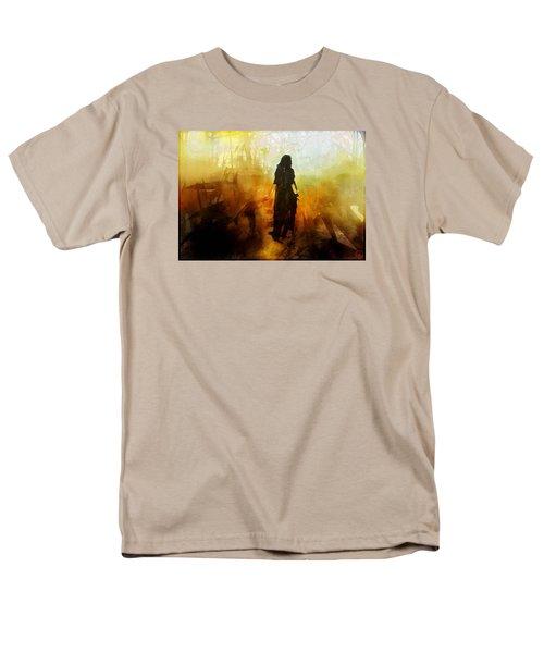 Walking Out From Chaos Men's T-Shirt  (Regular Fit) by Gun Legler