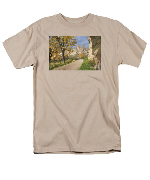 Men's T-Shirt  (Regular Fit) featuring the photograph Walking The Cappadocia by Yuri Santin