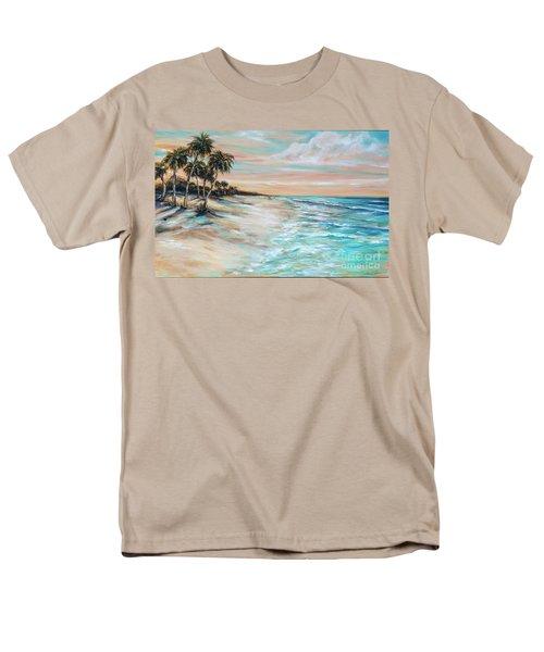 Walking The Dog II Men's T-Shirt  (Regular Fit) by Linda Olsen