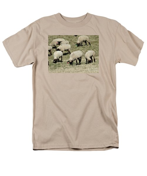 Men's T-Shirt  (Regular Fit) featuring the photograph Wandering Wool by J L Zarek