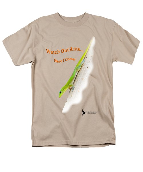 Watch Out Ants...here I Come Men's T-Shirt  (Regular Fit)