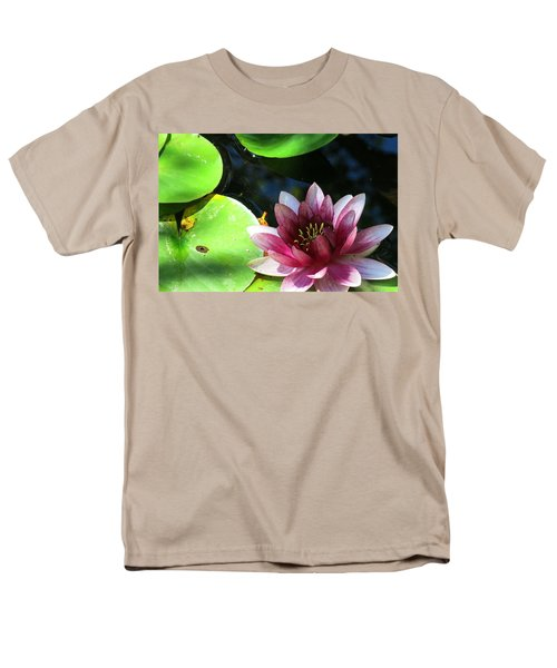 Water Lilly Men's T-Shirt  (Regular Fit) by Betty Buller Whitehead