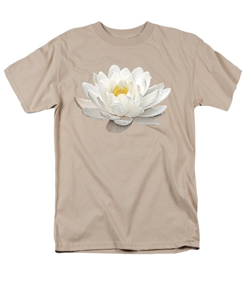 Water Lily Whirlpool Men's T-Shirt  (Regular Fit) by Gill Billington