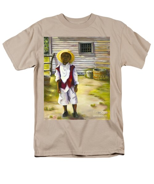 Men's T-Shirt  (Regular Fit) featuring the painting Way Out Of No Way by Marlene Book