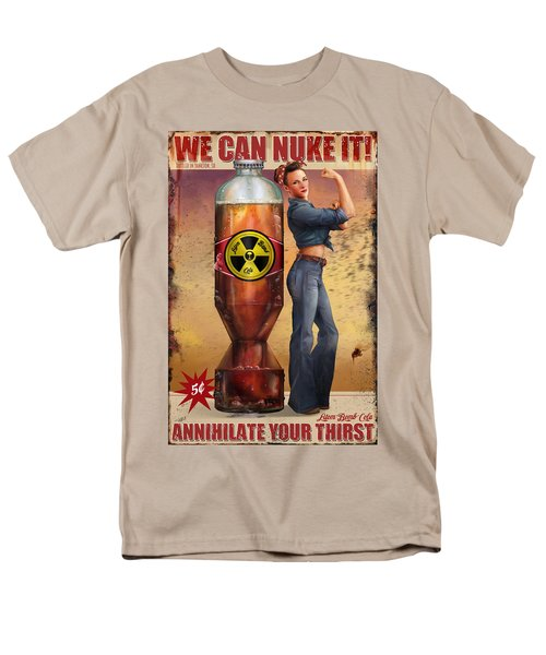 Men's T-Shirt  (Regular Fit) featuring the digital art We Can Nuke It by Steve Goad