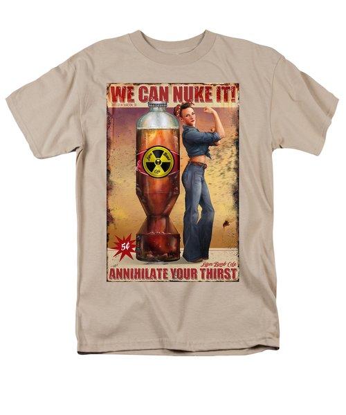We Can Nuke It Men's T-Shirt  (Regular Fit) by Steve Goad