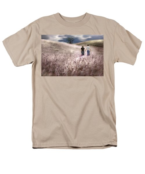 We Made Love Under The Tree Men's T-Shirt  (Regular Fit) by Gray  Artus