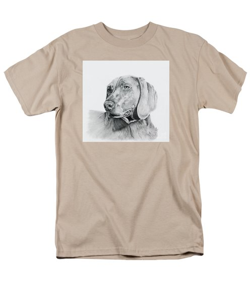 Weimaraner Men's T-Shirt  (Regular Fit) by Terri Mills