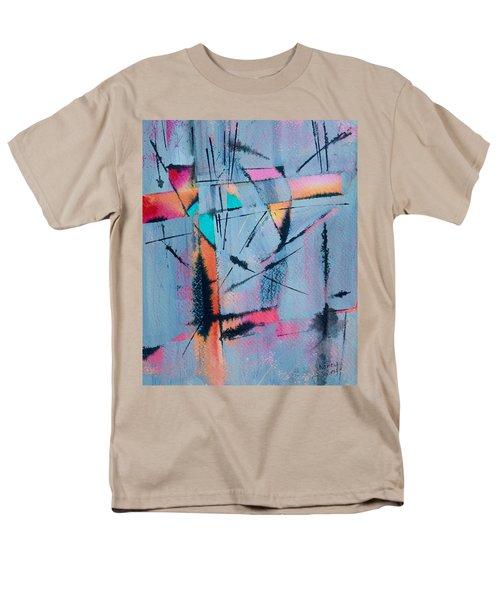 What Lies Beneath Men's T-Shirt  (Regular Fit) by Nancy Jolley