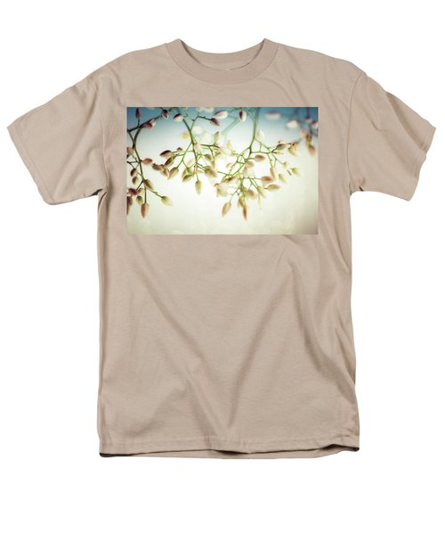 White Flowers Men's T-Shirt  (Regular Fit) by Bobby Villapando