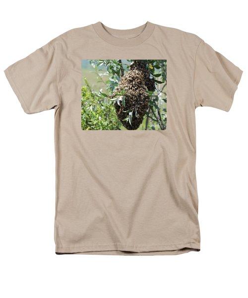Wild Honey Bees Men's T-Shirt  (Regular Fit) by Randy Bodkins