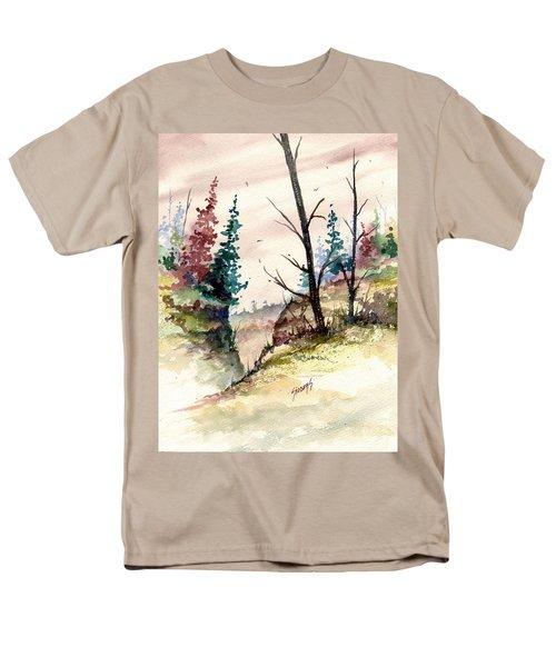 Wilderness II Men's T-Shirt  (Regular Fit) by Sam Sidders