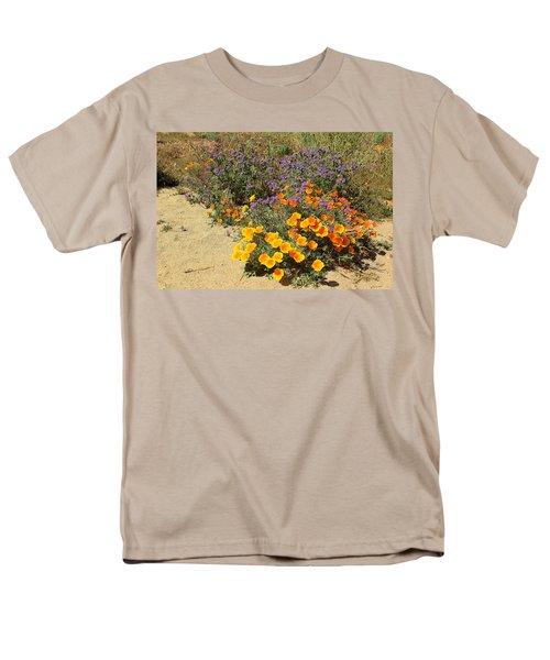 Wildflowers In Spring Men's T-Shirt  (Regular Fit) by Viktor Savchenko