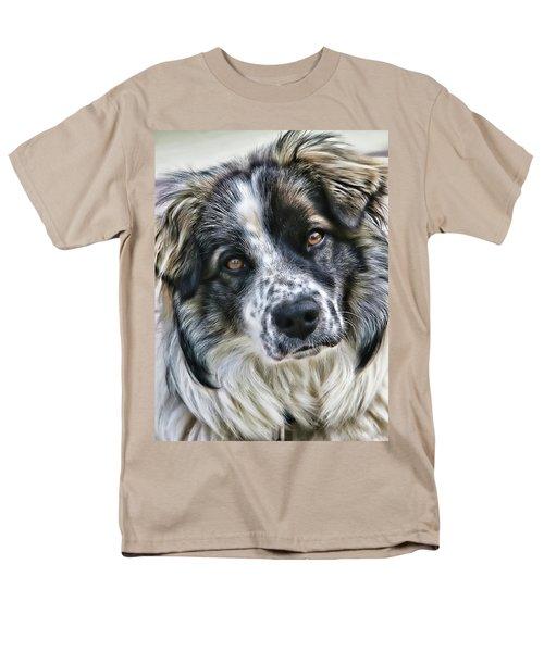 Will You Be My Friend Men's T-Shirt  (Regular Fit) by Rhonda McDougall