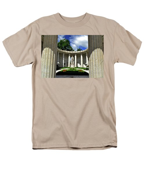 Men's T-Shirt  (Regular Fit) featuring the photograph William Mckinley Memorial 002 by George Bostian