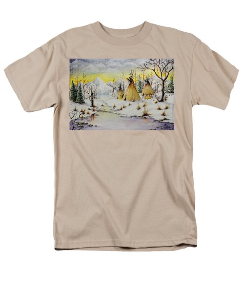 Winter Camp Men's T-Shirt  (Regular Fit) by Jimmy Smith