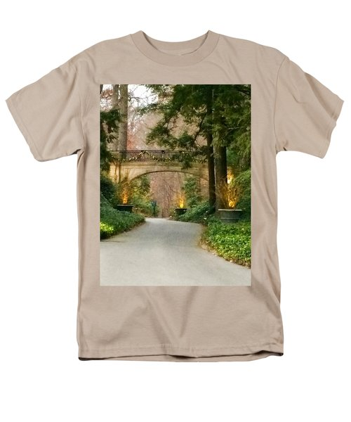 Winter In The Garden Men's T-Shirt  (Regular Fit) by Robin Regan