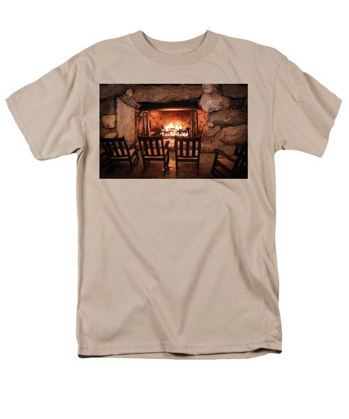 Winter Warmth Men's T-Shirt  (Regular Fit) by Karen Wiles