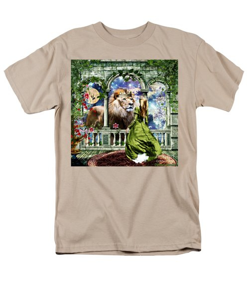 Men's T-Shirt  (Regular Fit) featuring the digital art With Him I Speak Face To Face by Dolores Develde