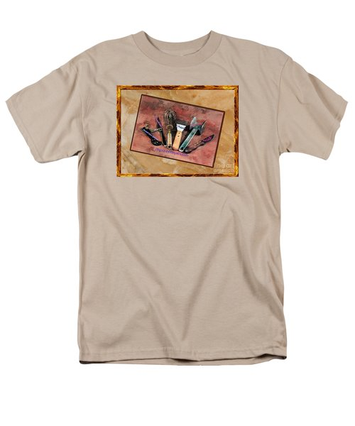 Men's T-Shirt  (Regular Fit) featuring the photograph Women's Favorite Tools by Shirley Mangini