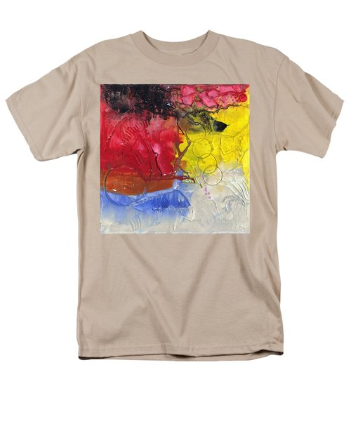 Wounded Men's T-Shirt  (Regular Fit) by Phil Strang