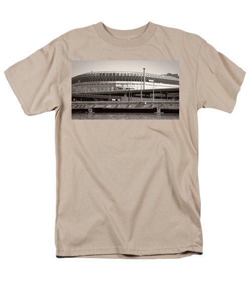 Yankee Stadium    1923  -  2008 Men's T-Shirt  (Regular Fit) by Daniel Hagerman