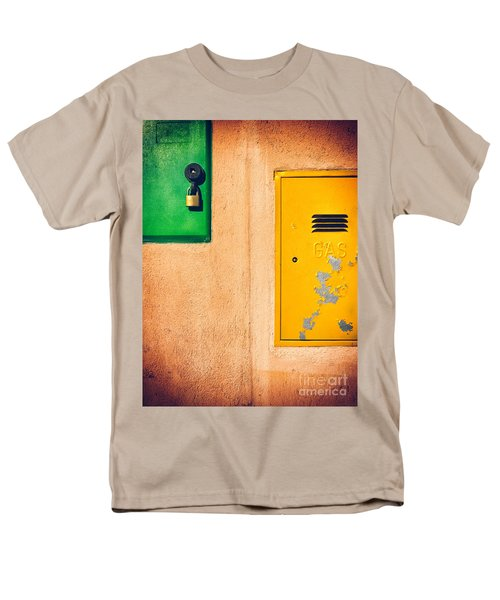 Men's T-Shirt  (Regular Fit) featuring the photograph Yellow And Green by Silvia Ganora