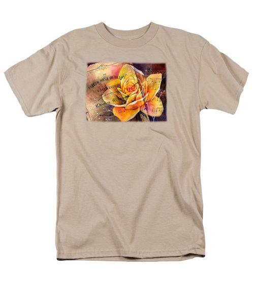 Yellow Rose Of Texas Men's T-Shirt  (Regular Fit)