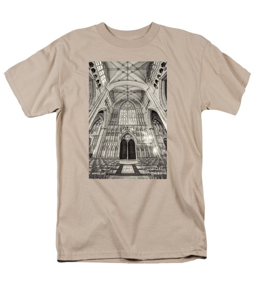 Men's T-Shirt  (Regular Fit) featuring the photograph York Minster Uk by Jack Torcello