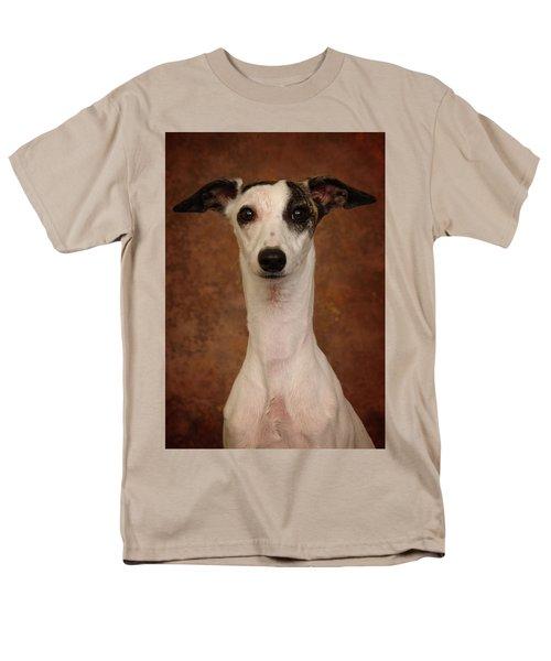 Young Whippet Men's T-Shirt  (Regular Fit) by Greg Mimbs