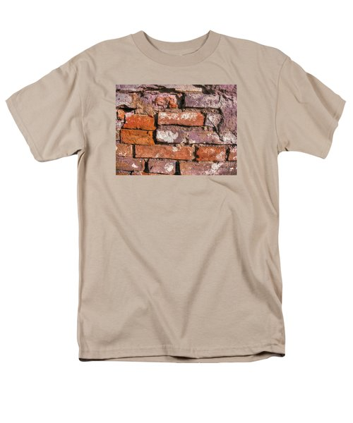 Men's T-Shirt  (Regular Fit) featuring the pyrography Yury Bashkin Old Wall by Yury Bashkin
