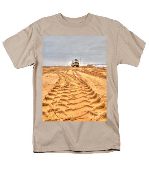 Yury Bashkin The Road On The Construction Men's T-Shirt  (Regular Fit) by Yury Bashkin