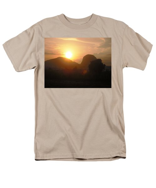 Zuma Rock, Abuja Nigeria Men's T-Shirt  (Regular Fit) by Bankole Abe
