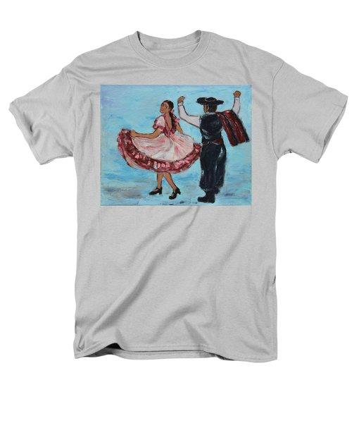 Argentinian Folk Dance Men's T-Shirt  (Regular Fit) by Xueling Zou