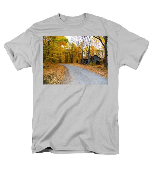 Autumn And The Old House Men's T-Shirt  (Regular Fit) by Nick Kirby