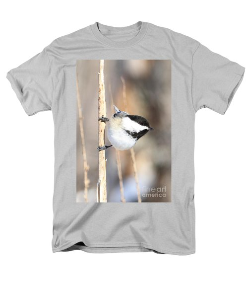 Men's T-Shirt  (Regular Fit) featuring the photograph Black Capped Cutie by Heather King