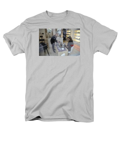 Men's T-Shirt  (Regular Fit) featuring the photograph Dog And True Friendship 8 by Teo SITCHET-KANDA