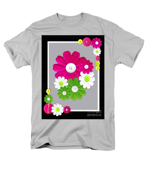 Men's T-Shirt  (Regular Fit) featuring the photograph  Delightful Florals by Tina M Wenger