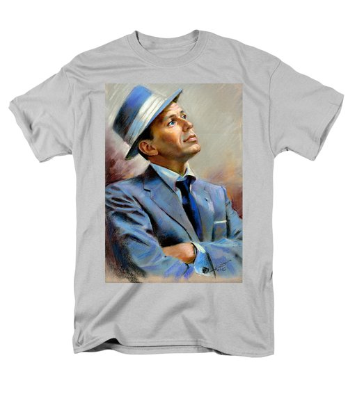 Frank Sinatra  Men's T-Shirt  (Regular Fit) by Ylli Haruni