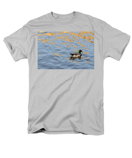 Men's T-Shirt  (Regular Fit) featuring the photograph Golden Ripples by Keith Armstrong