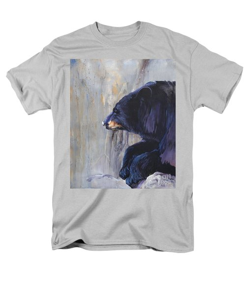 Grandfather Bear Men's T-Shirt  (Regular Fit) by J W Baker