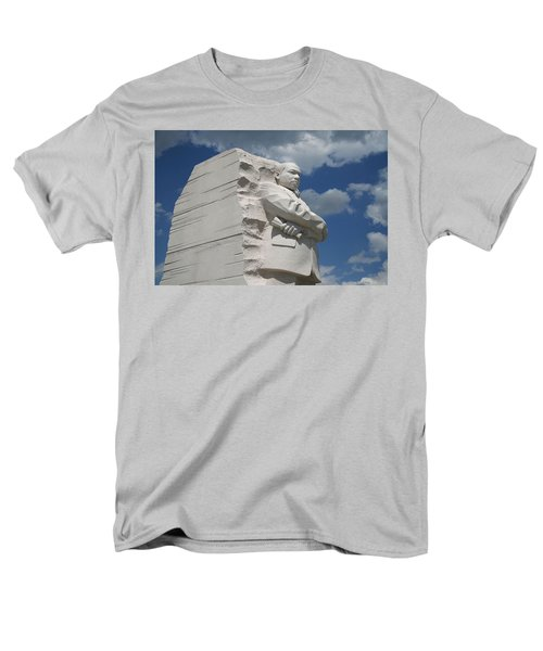 Men's T-Shirt  (Regular Fit) featuring the photograph Honoring Martin Luther King by Cora Wandel
