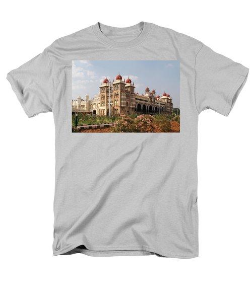 Maharaja's Palace And Garden India Mysore Men's T-Shirt  (Regular Fit) by Carol Ailles