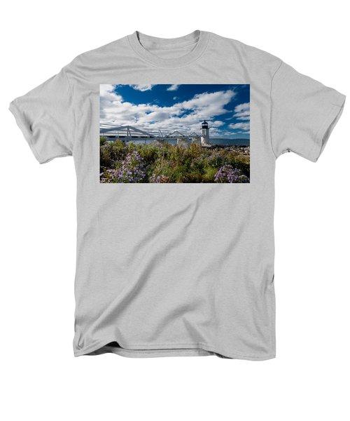 Marshall Point Lighthouse Men's T-Shirt  (Regular Fit)
