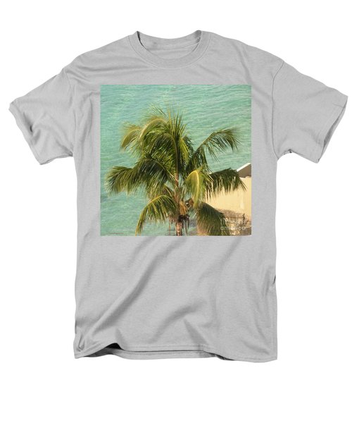 Men's T-Shirt  (Regular Fit) featuring the digital art Storm's A Coming by Luther Fine Art