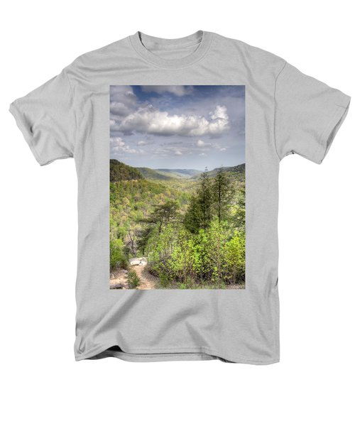 The Valley II Men's T-Shirt  (Regular Fit) by David Troxel