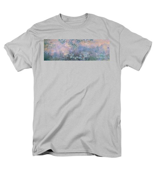 Water Lilies Men's T-Shirt  (Regular Fit) by Claude Monet