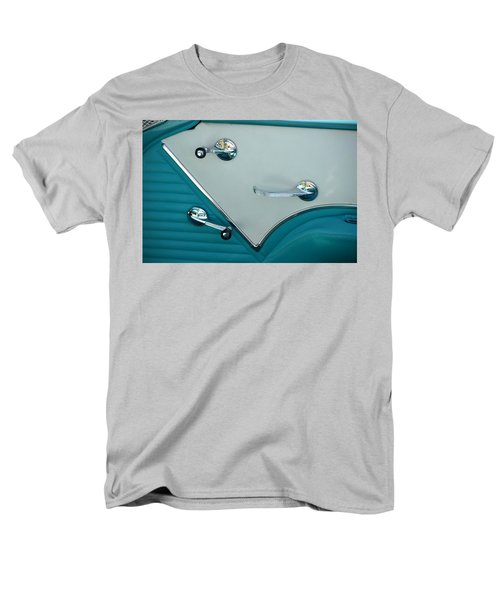 Men's T-Shirt  (Regular Fit) featuring the photograph 1950's Chevy Interior by Dean Ferreira