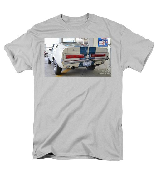1967 Mustang Shelby Gt-350 Men's T-Shirt  (Regular Fit) by Kevin McCarthy